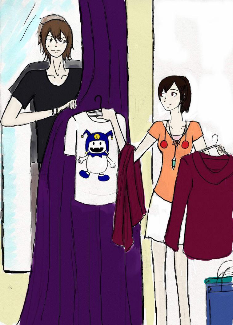 P3 Shopping buddies by Vanessalisa