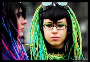 Cyber Goth by Rebechan