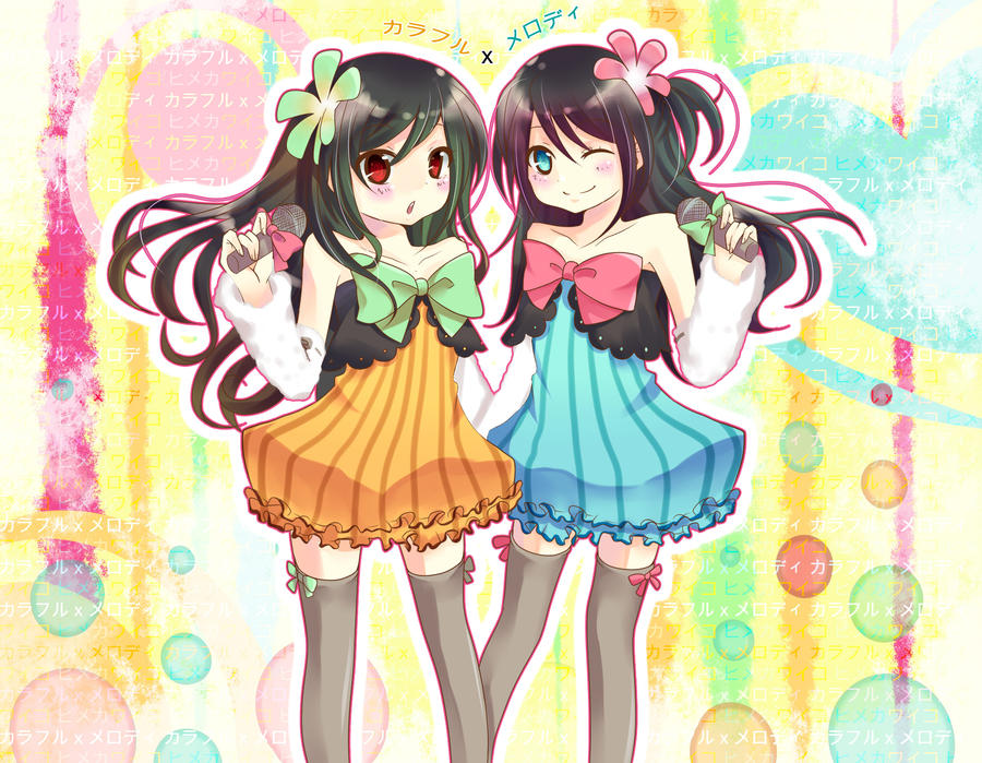Colorful x Melody