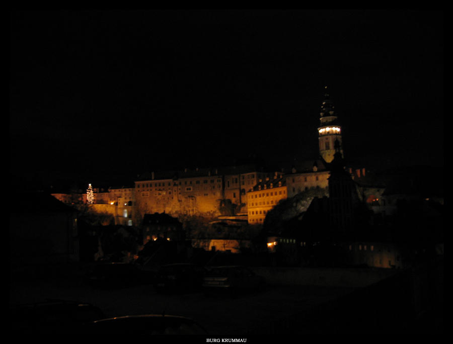 Castle Krumlov by pitchblacknight