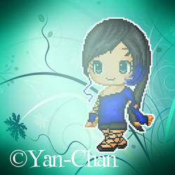 Random pixel girl by Yann-chan