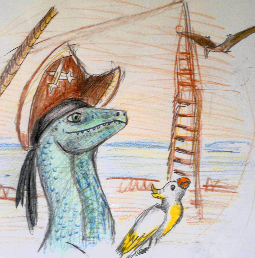 Raptor- The dream. by Shantifiy