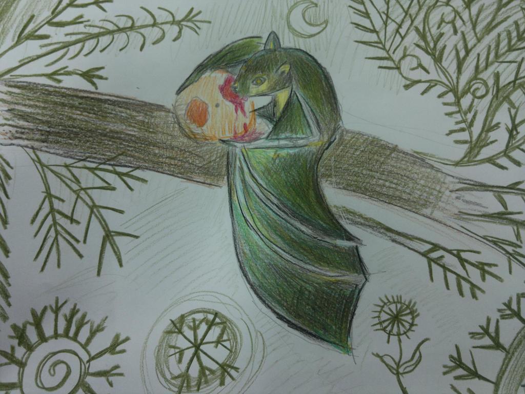 fruit bat or vampire bat? by Shantifiy