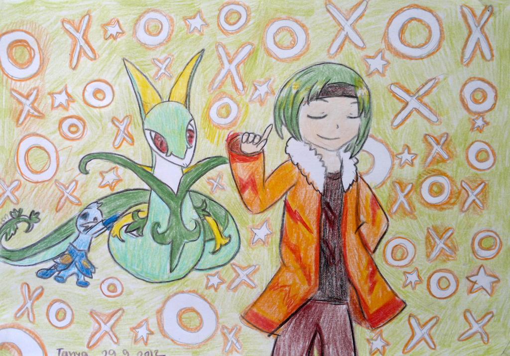 Serperior and his friend. by Shantifiy