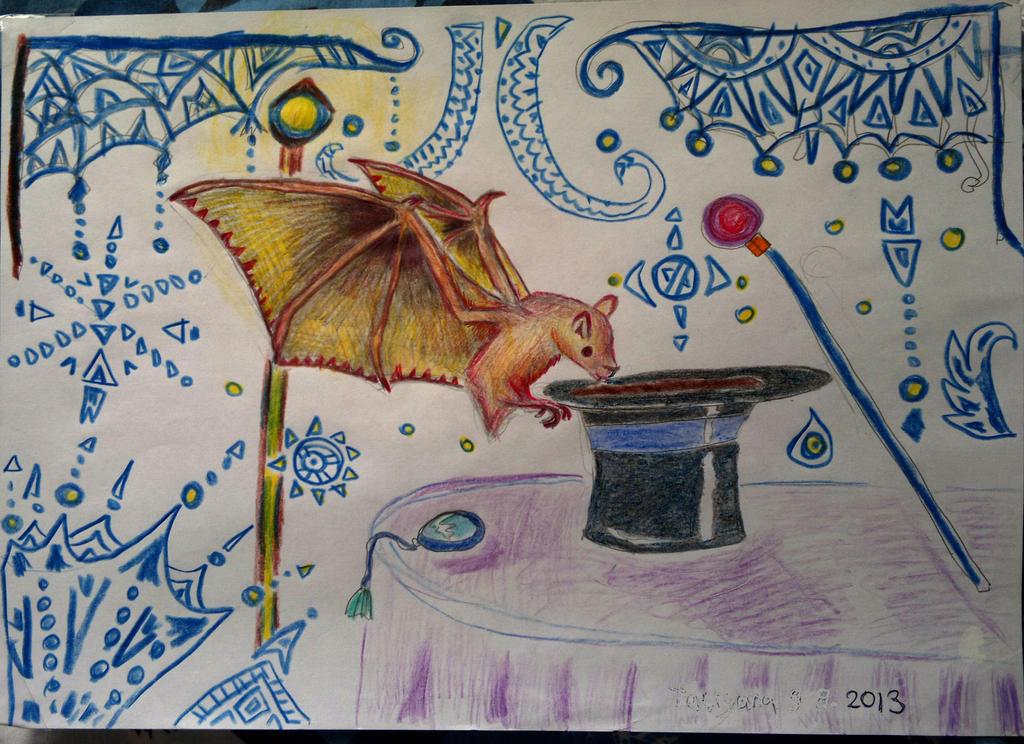 Bat - I am magicman bat. by Shantifiy