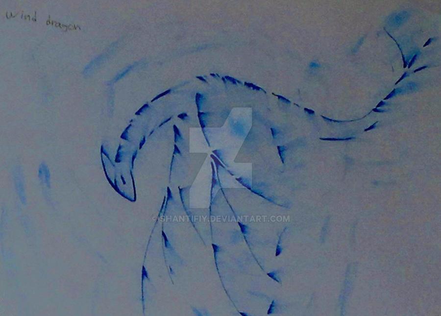 Wind Dragon v.2. by Shantifiy