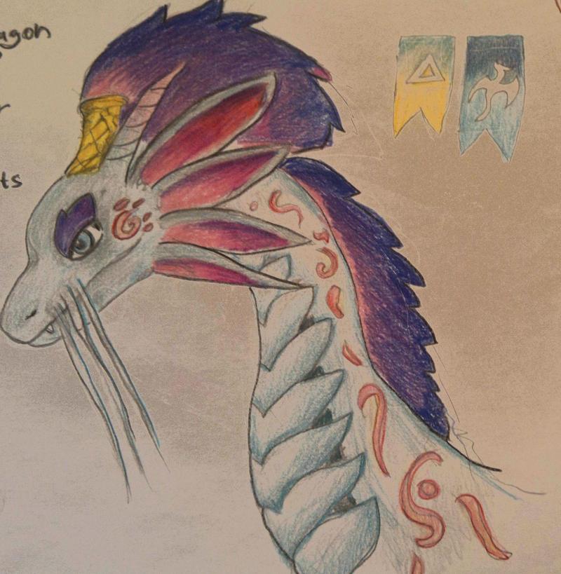 Dreamcatcher dragon face- dragon city. by Shantifiy
