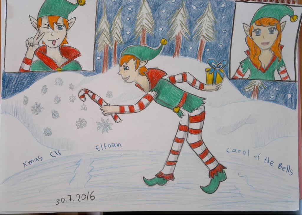 Xmas elf. by Shantifiy