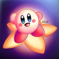 Kirby Cute WARP STAR!