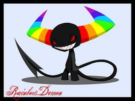 Rainbow Demon by midnightheist