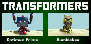 LittleBigPlanet Transformers by midnightheist
