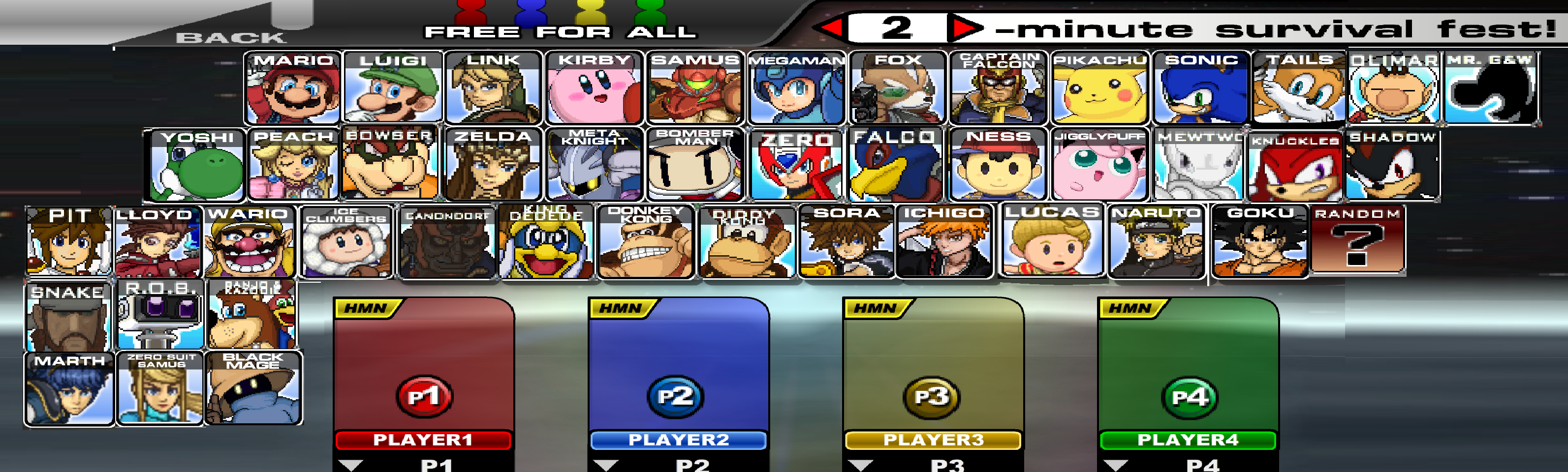 super smash flah