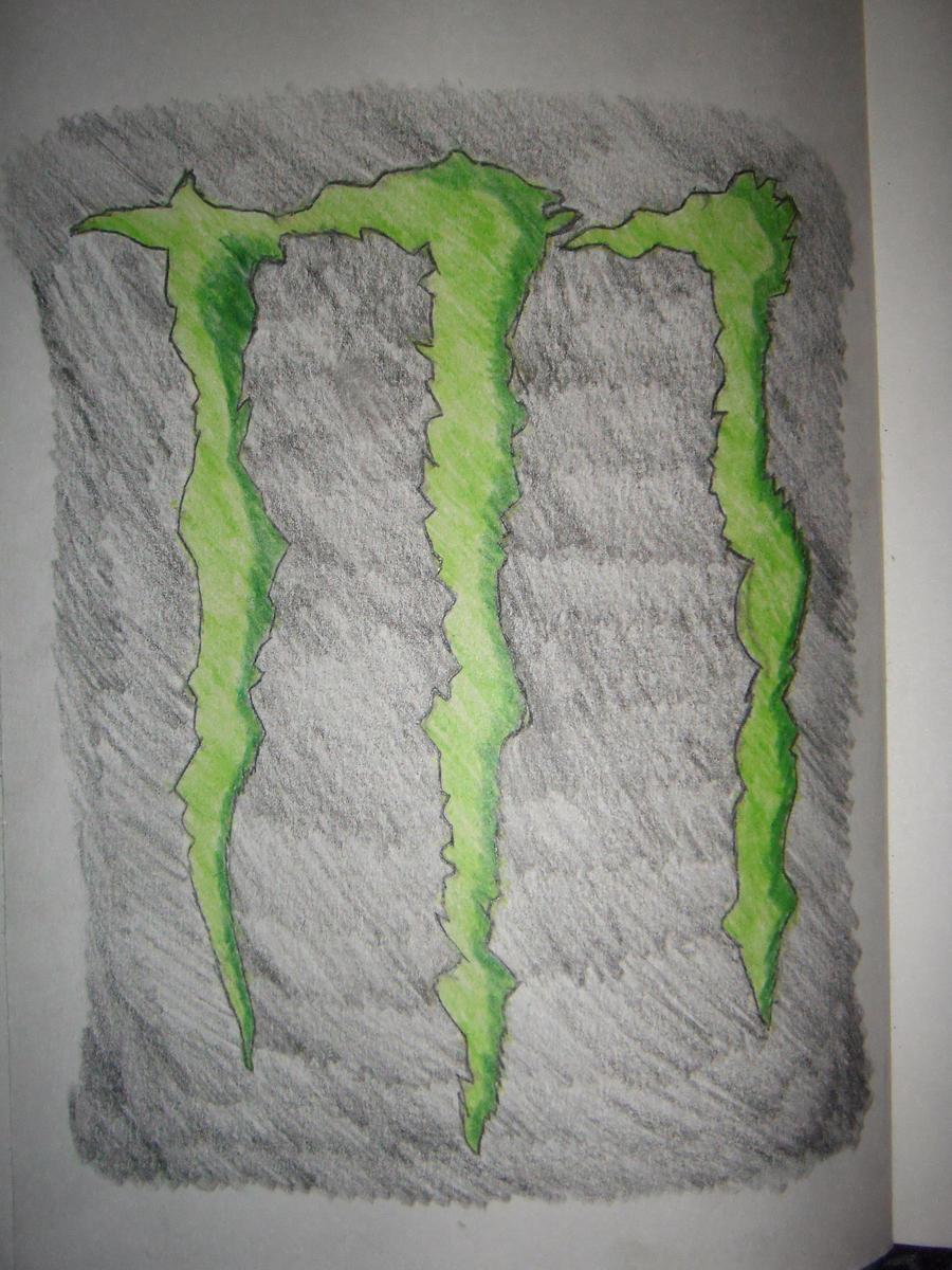 energy logo red monster drink wallpaper tattoo. Black Bedroom Furniture Sets. Home Design Ideas