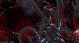 Red-Eyes Black Dragon Sig by AnimalLovers626