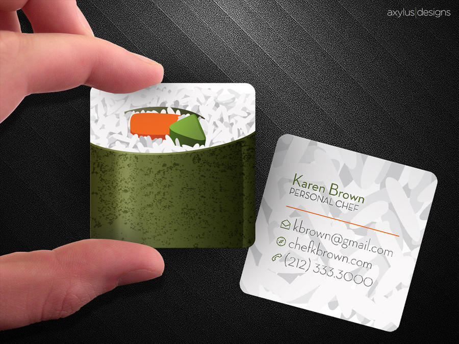 Square sushi business card by axylus on deviantart square sushi business card by axylus colourmoves