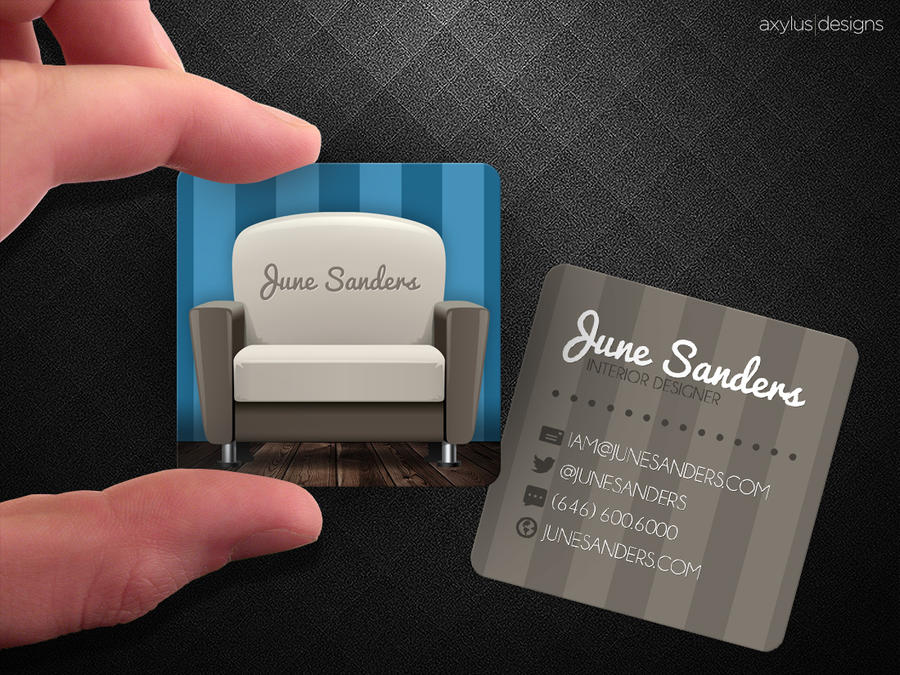 Interior Designer Business Card by axylus on DeviantArt
