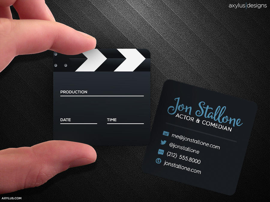 Square movie and actor business card by axylus on deviantart square movie and actor business card by axylus colourmoves
