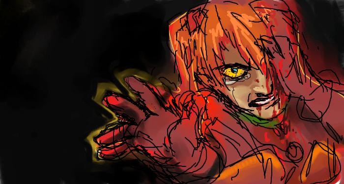 End Of Evangelion Asuka Wip By Crustybagelbites On Deviantart