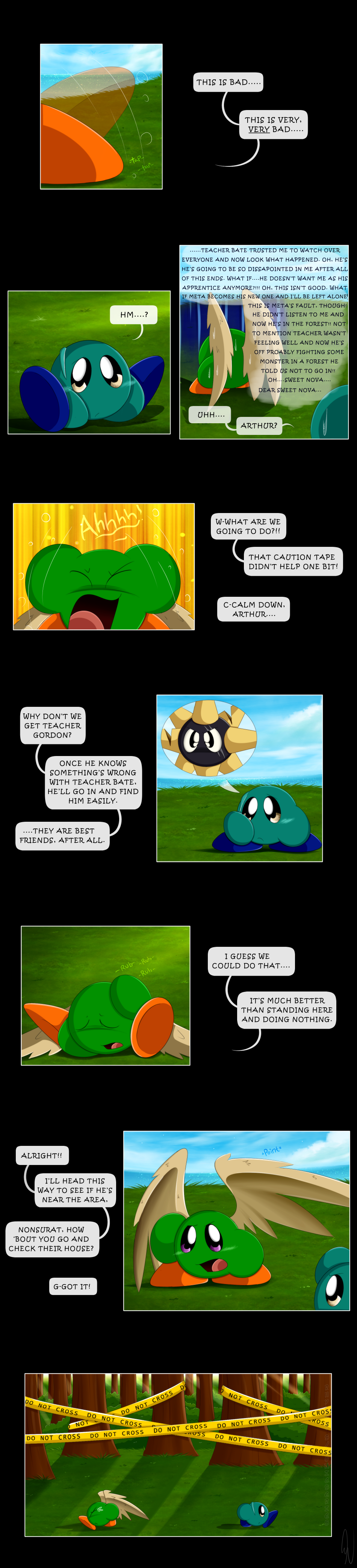Meta Knight And Kirby Comics One Million Voices Pg....