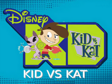 Kid vs kat and disney xd by flippynax