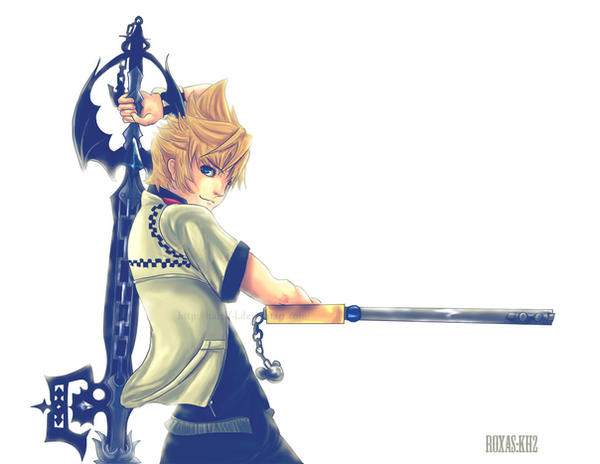Roxas Wallpaper By Harelf L On DeviantArt
