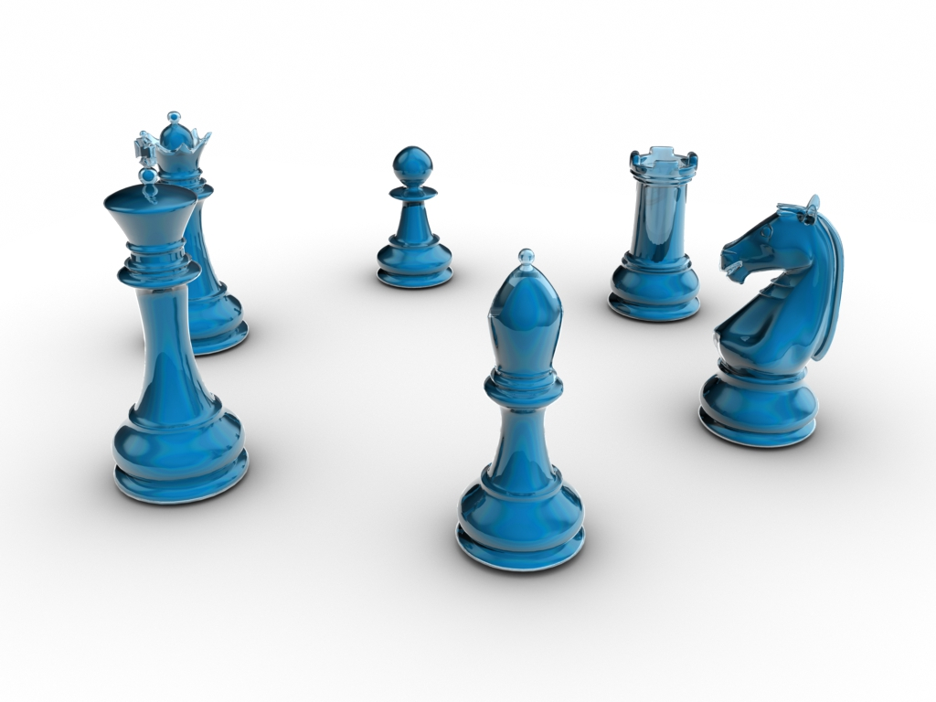 Cool Chess Pieces Blue 3d Glass Chess Set By Lyle The Hobo On Deviantart