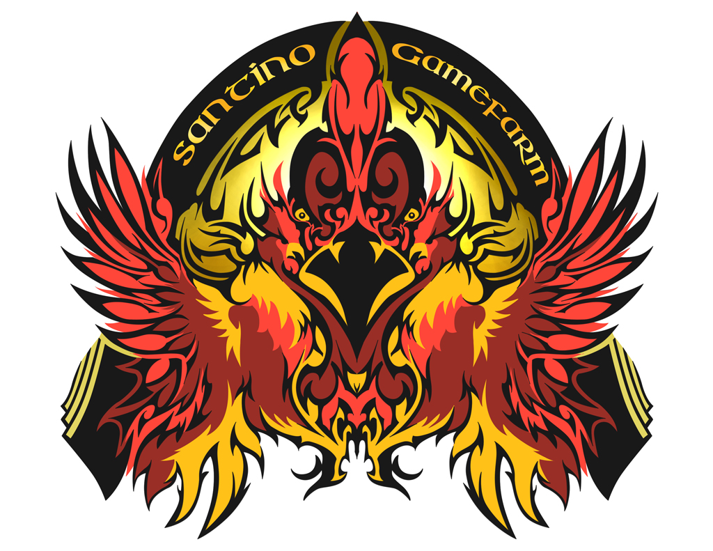 Tribal logo santino gamefarm by insignusknives on deviantart - Cock designing ...