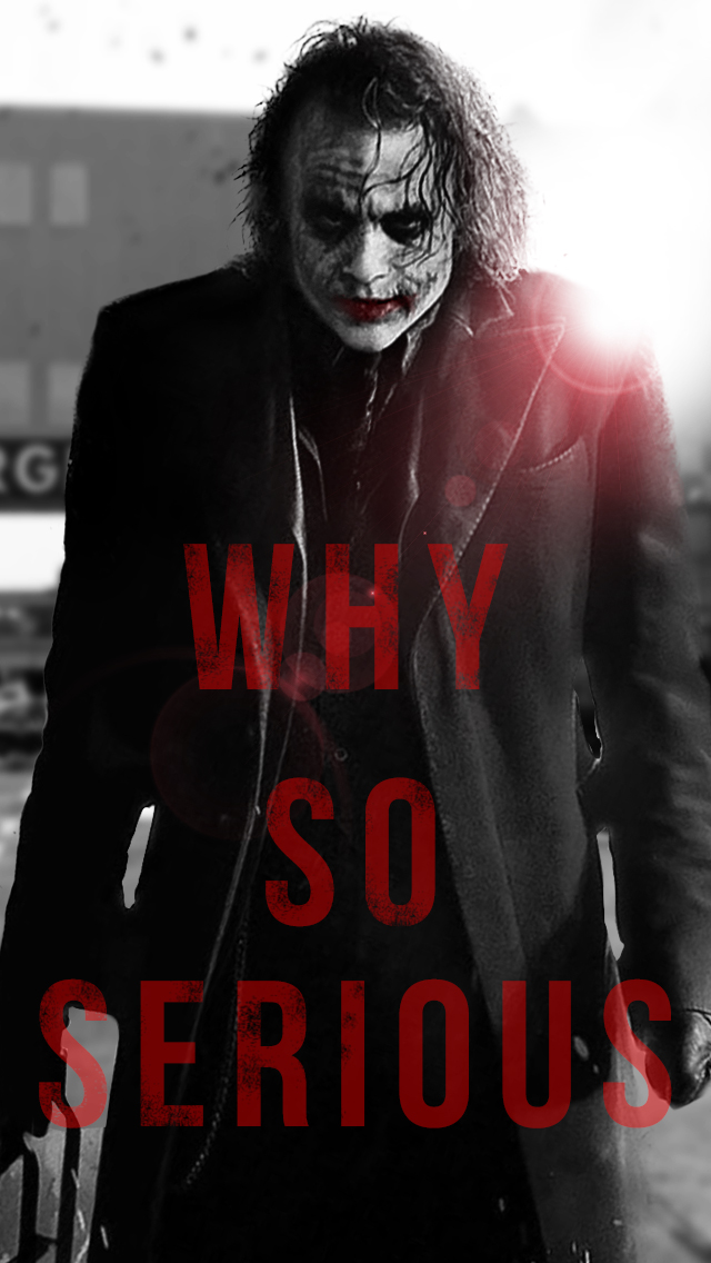 Joker - Why So Serious by Faatehhamad on DeviantArt