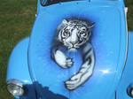 Tiger on VW by Achronai