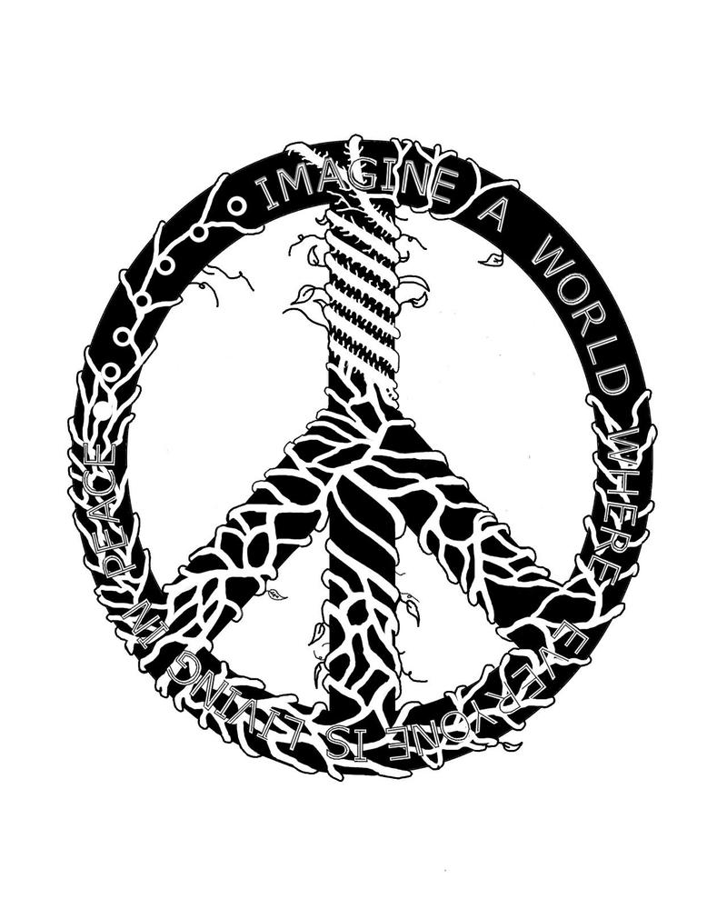 Tattoo Designs Peace: Peace Tattoo Finished By Achronai On DeviantArt