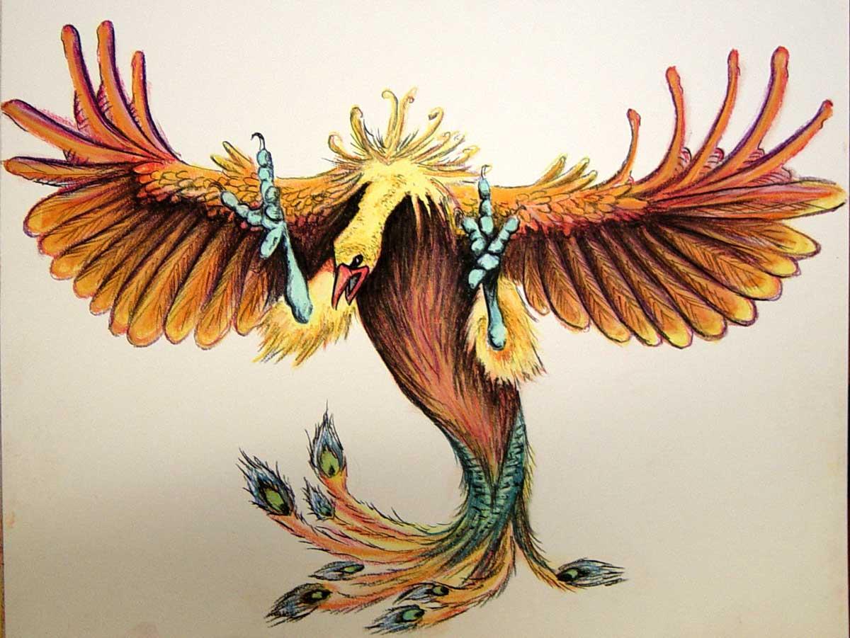 Phoenix by tripperfunster