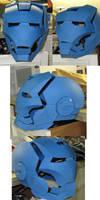 Helmet WIP by tripperfunster