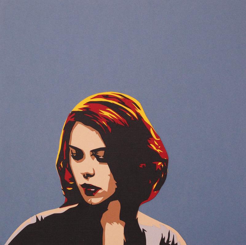 Papercut Black Widow by tripperfunster