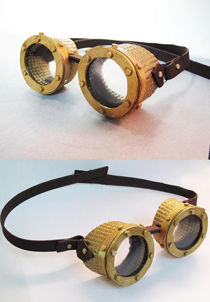 Steampunk goggles by tripperfunster on DeviantArt