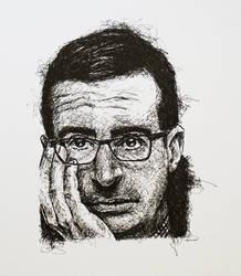 John Oliver Scribble