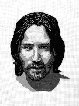 Embroidered Keanu