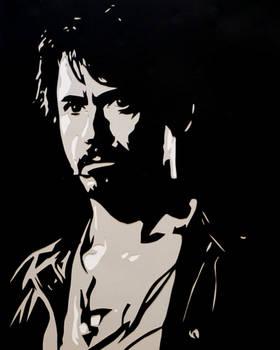 Papercut Tony Stark