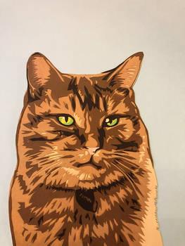Paper Ginger Tabby