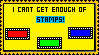 I Can't Get Enough Of Stamps by ItsCrazyConnor