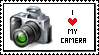 I love my camera Stamp by ItsCrazyConnor