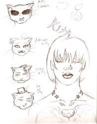 Pervy kitty by MythicMeztli