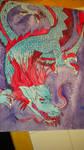 Venetus Lacerta -Blue Lizard- by izze-bee