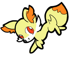 Fennekin Generation 6 Pokemon by izze-bee
