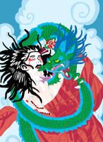 Dragon Geisha by izze-bee