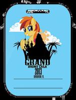 Grand Brony Gala Badge by izze-bee