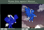 Draw this Again Meme-1 Year's Progress