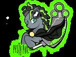 Pesty Pox OC Pony by izze-bee