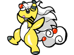 Mega Ampharos by izze-bee
