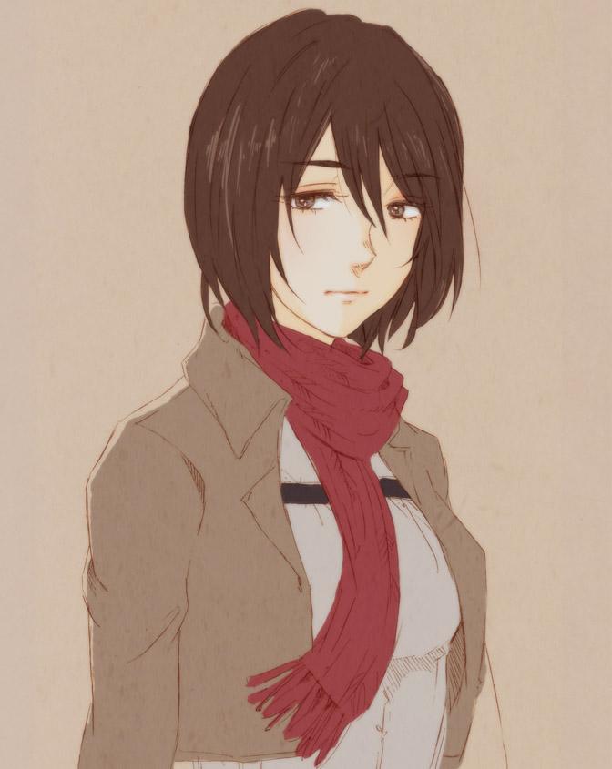 Mikasa by odysseeey