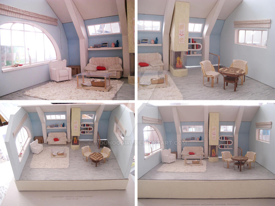 Design-project of the Guest Penthouse by WooHooGirl